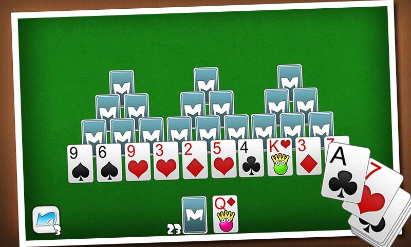 TriPeaks Solitaire- screenshot