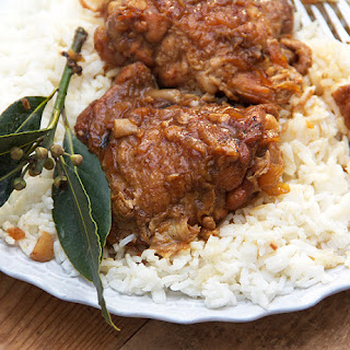 CHICKEN ADOBO from the PHILIPPINES.