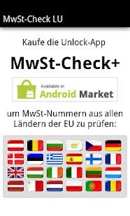 MwSt-Check LU - screenshot thumbnail