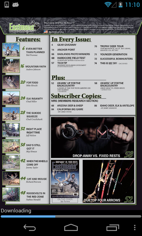 Eastmans Bowhunting Journal - screenshot