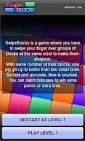 Screenshot of Swipe Blocks