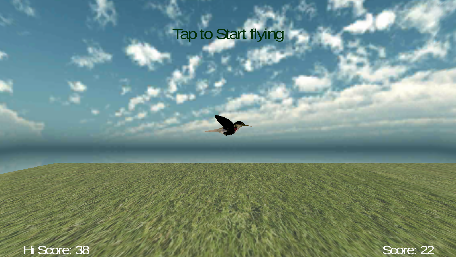 Jumpy Bird 3D- screenshot