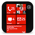 GOSMS WP8 Red Theme