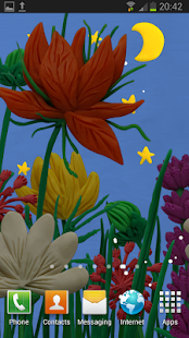 Flowers Live wallpaper Free - náhled