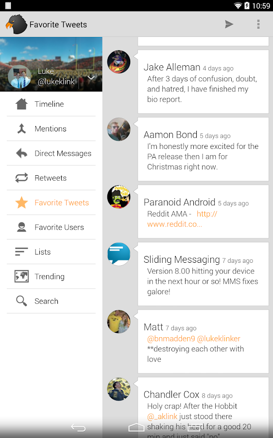 Talon for Twitter - screenshot