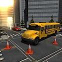 Park It 3D: School Bus icon
