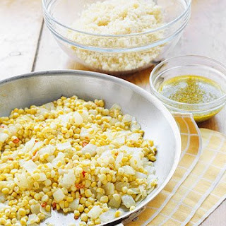 Corn and Couscous Salad.
