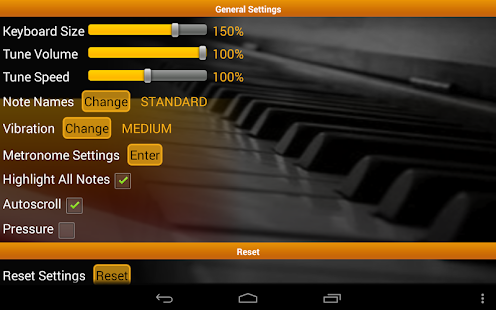 Piano Scales & Chords Free - screenshot thumbnail