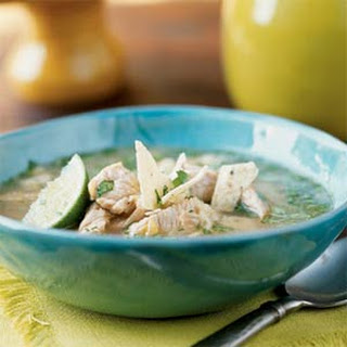 Chipotle Turkey and Corn Soup