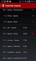 Screenshot of HC Sparta Praha
