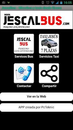 Jescalbus - Taxi y Microbus