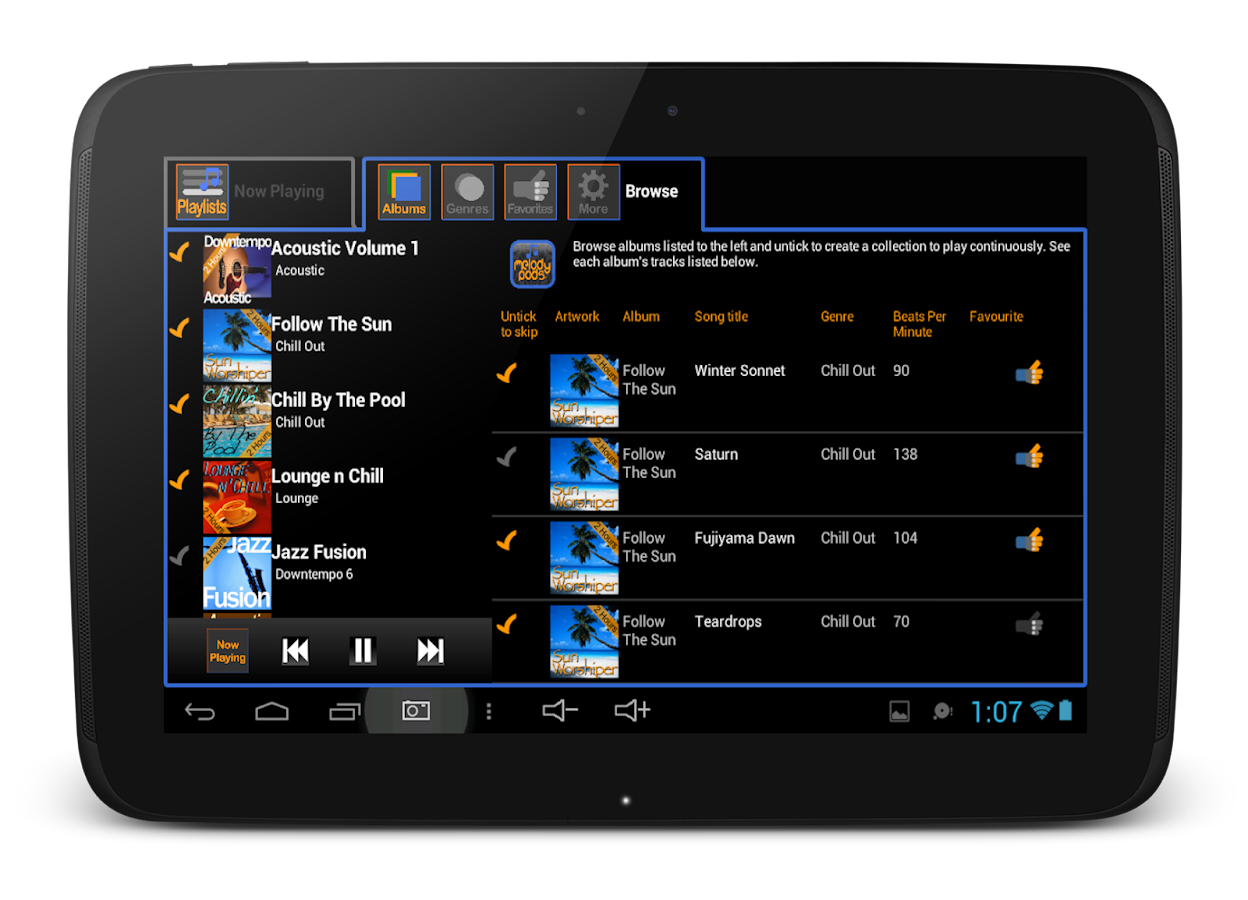 Melody Pods Music For Business- screenshot