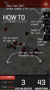 LRA Crisis Tracker - screenshot thumbnail