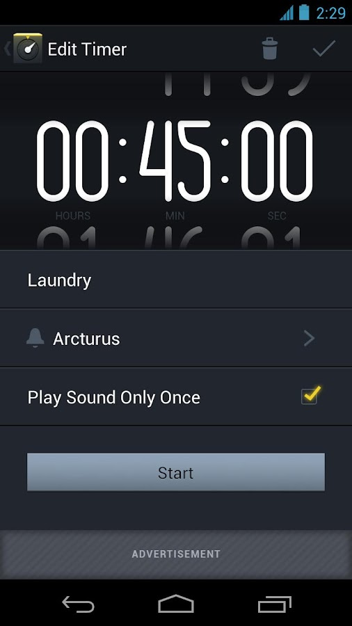Timer+ : countdown timer- screenshot