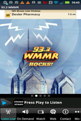 93.3 WMMR - screenshot