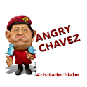 Angry Chavez logo
