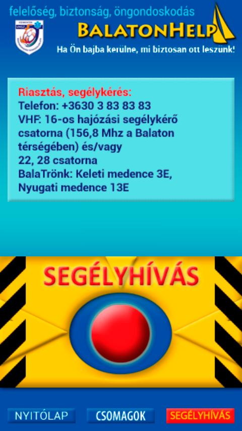 BalatonHelp- screenshot