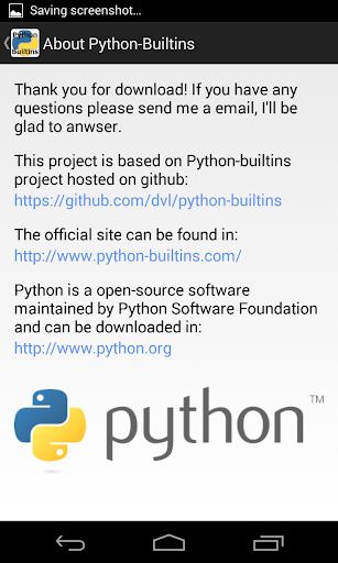 【免費生產應用App】Python Builtins-APP點子