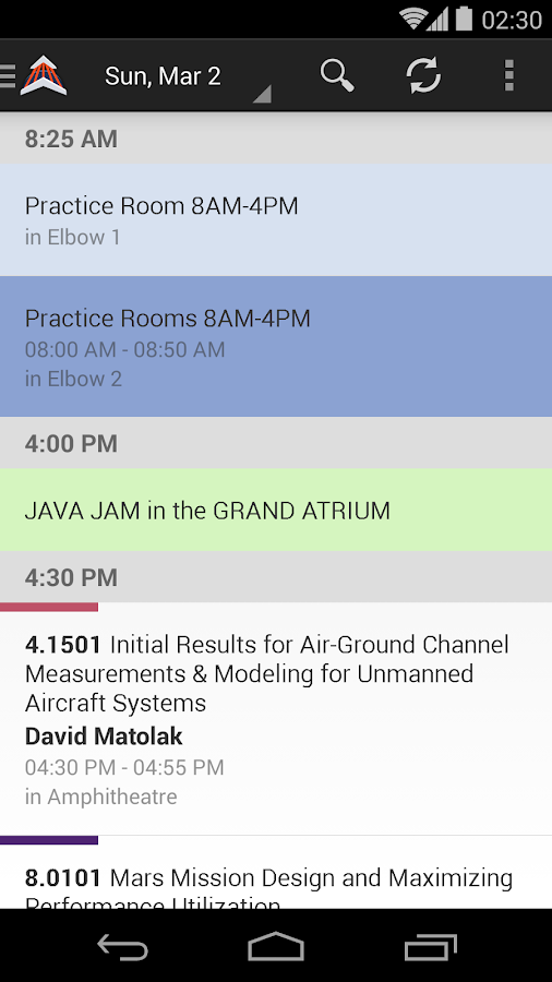 2015 IEEE Aerospace Conference - screenshot