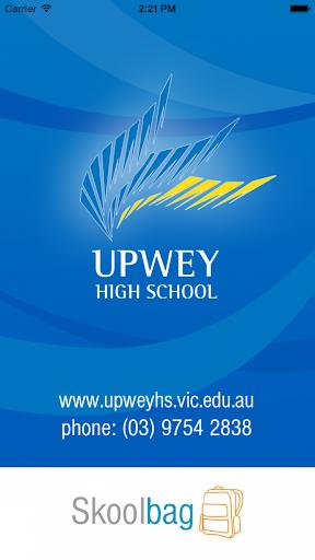 Upwey High School - Skoolbag