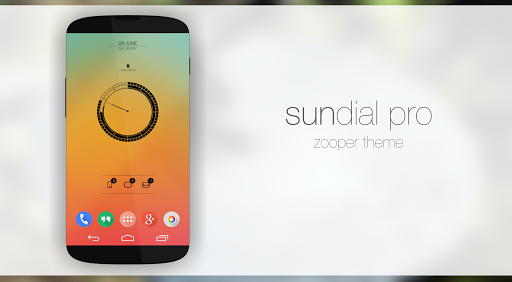 Sundial Colors Zooper Theme
