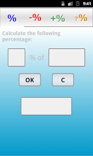 Calculadora Porcentajes PRO