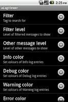 Screenshot of aLogViewer