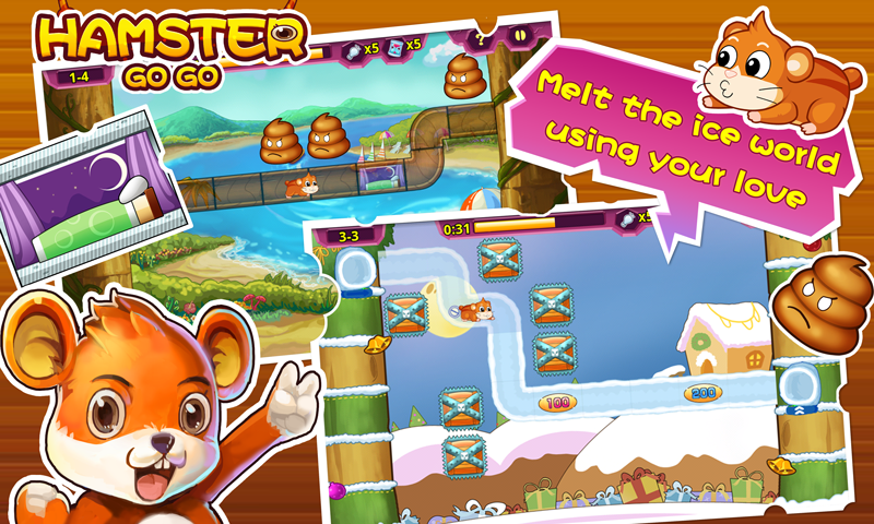 Hamster Go Go - screenshot