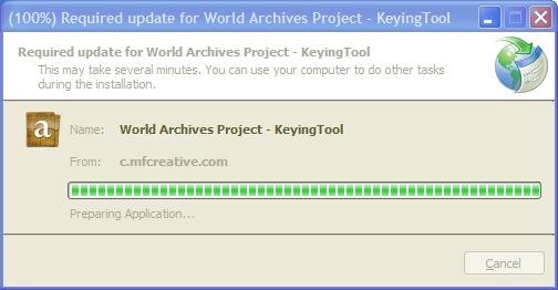 键控工具在需要时自动升级
