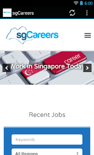 sgCareers- screenshot thumbnail