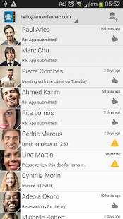 Contacts Ultra- screenshot thumbnail
