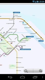 Amsterdam Metro and Tram Map - screenshot thumbnail