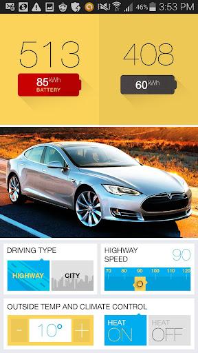Mileage Estimator 4 Tesla Car
