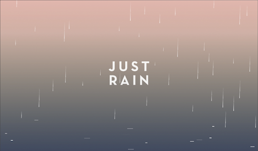 Just Rain- screenshot thumbnail