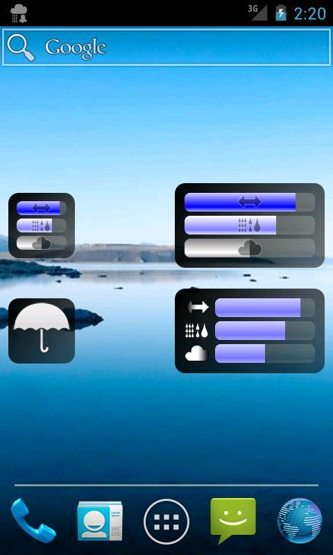 Rain Alarm OSM - screenshot
