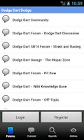Screenshot of Dodge Dart Forum