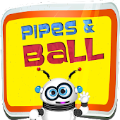 Plumber Pipes and Ball Puzzle