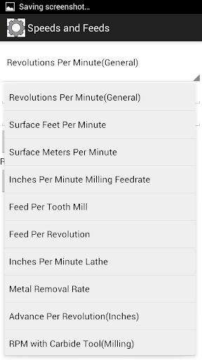 Speeds and Feeds Calculator