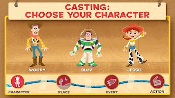 Screenshot of Toy Story: Story Theater