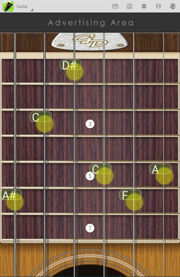 Guitar Droid Lite- screenshot