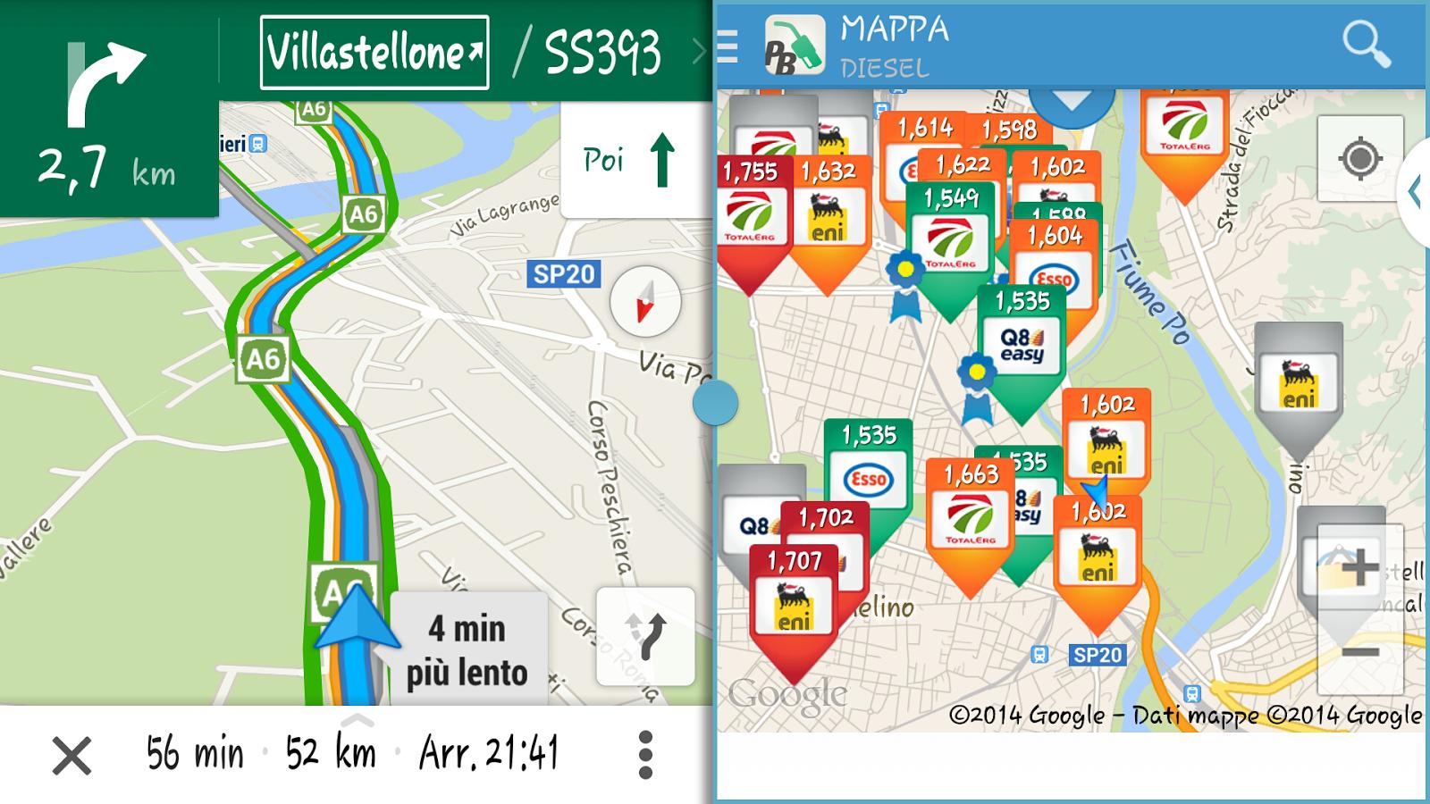 Prezzi Benzina - screenshot