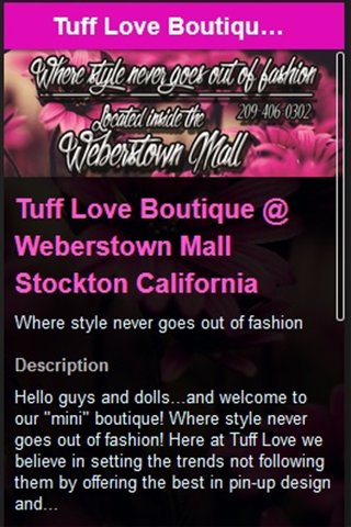 Tuff Love Boutique weberstown
