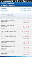 Screenshot of BBVA Continental | Banca Móvil