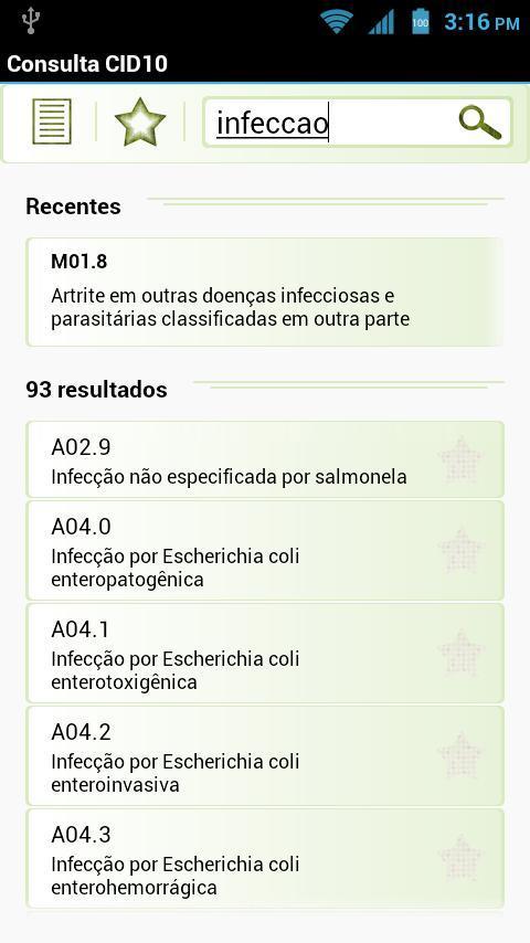 Consulta CID10 Pro- screenshot