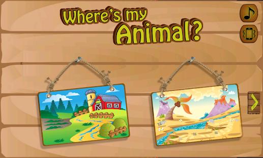 Where's My Animal