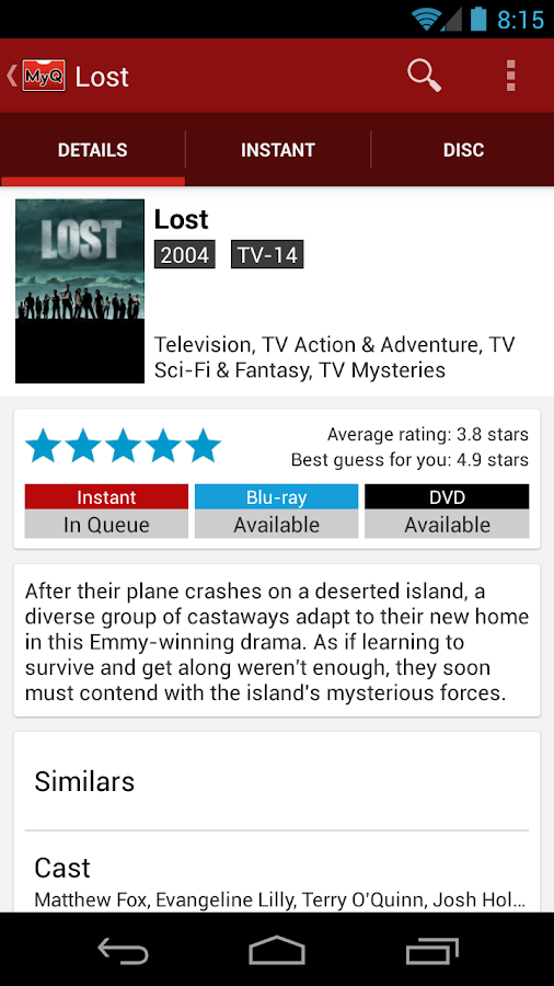 MyQ For Netflix - screenshot