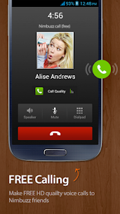 Nimbuzz Messenger / Free Calls - screenshot thumbnail