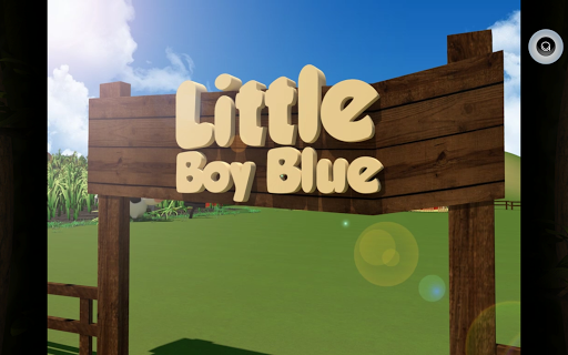 Little Boy Blue Mother Goose