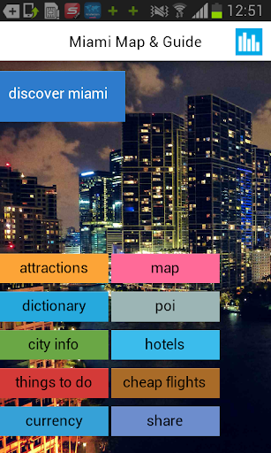 迈阿密离线地图与指南
