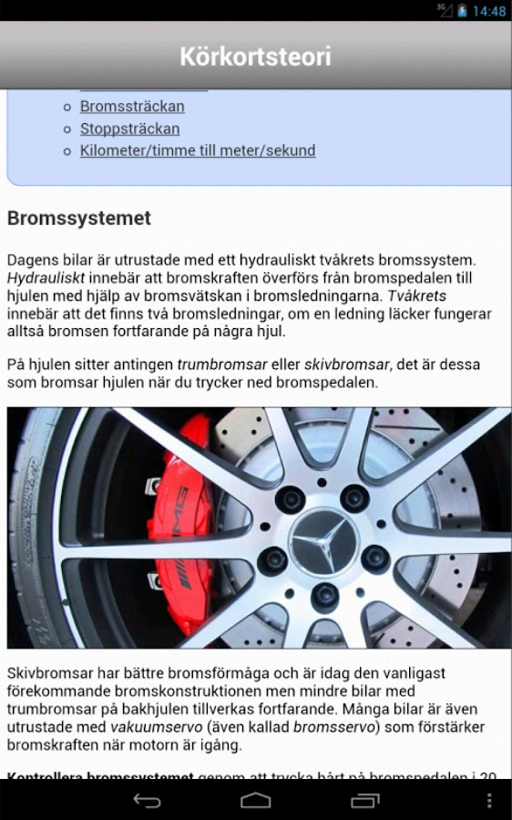 iKörkort Lite - screenshot